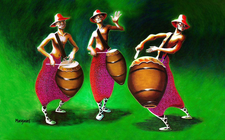 tambores del sur